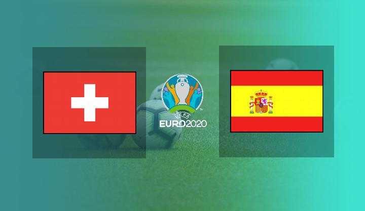 Hasil Swiss vs Spanyol Skor Akhir 1-1 (1-3 Penalti) Perempat Final Euro 2020