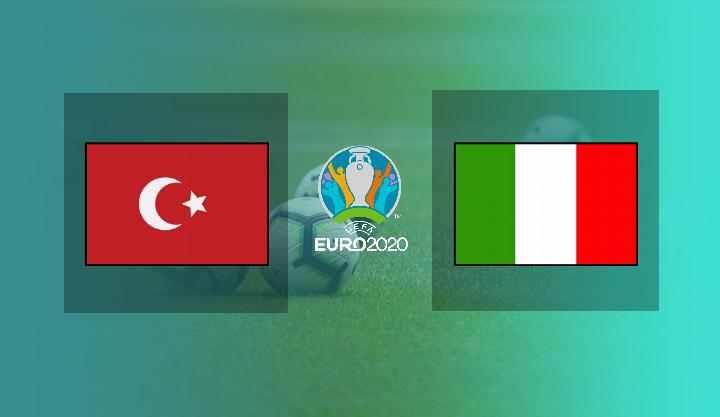 Hasil Turki vs Italia Tadi Malam