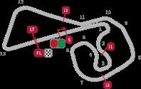 Gambar sirkuit Sachsenring Jerman