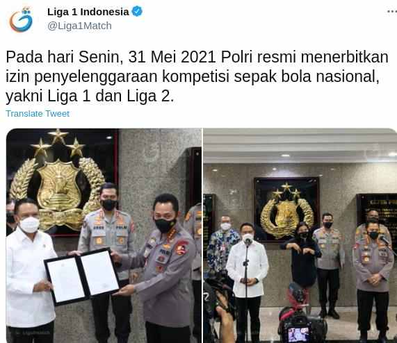 jadwal Liga 1 2021