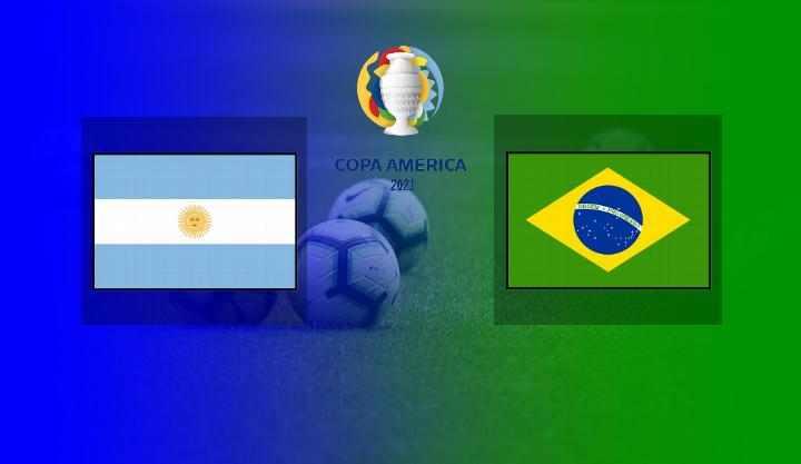 Hasil Argentina vs Brazil Final Copa America 2021