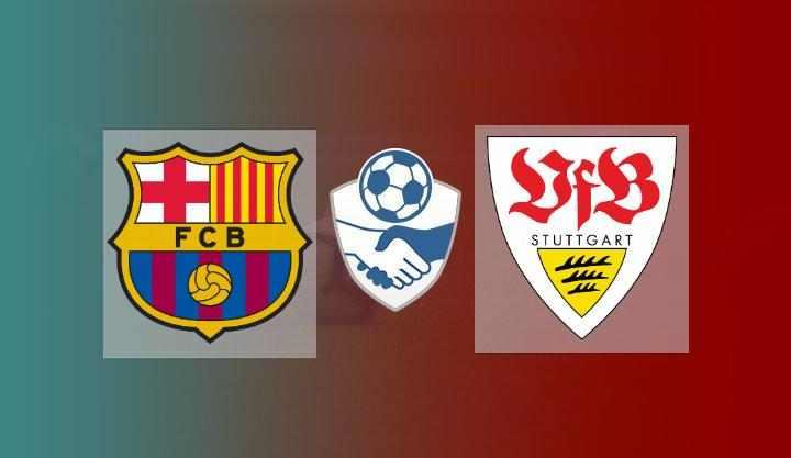 Hasil Stuttgart vs Barcelona Skor Akhir 0-3   Friendly Match 2021