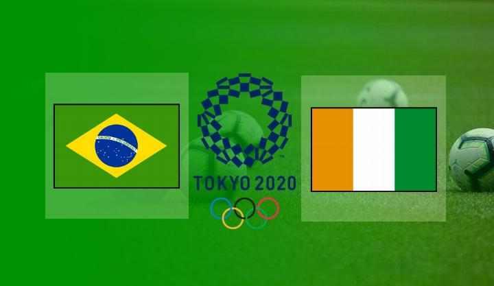 Hasil Brazil vs Pantai Gading Skor Akhir 0-0 | Olimpiade Tokyo 2020