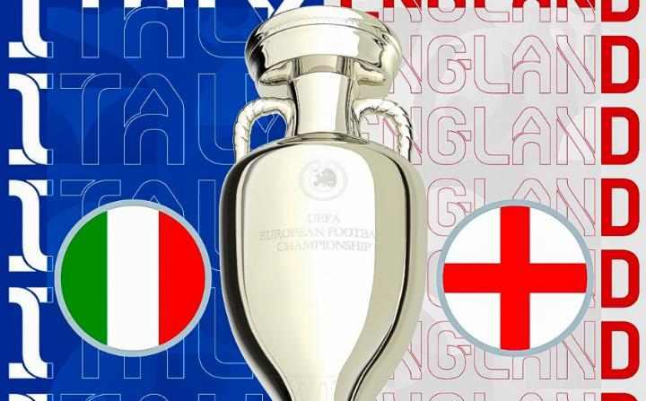 Inggris Bertemu Italia di Final EURO 2020
