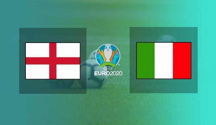 Italia vs Inggris Final EURO 2020 : Head to Head, Prediksi Susunan Pemain dan Live Streaming