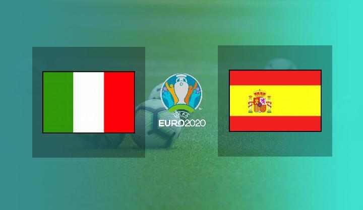 Hasil Italia vs Spanyol Semifinal EURO 2020