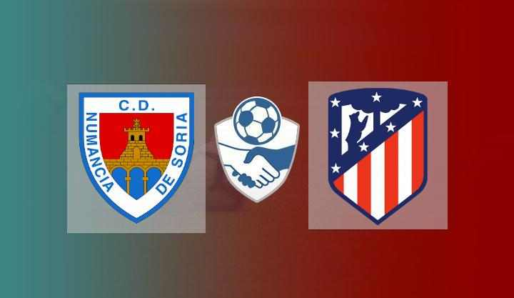 Hasil Numancia vs Atletico Madrid Skor Akhir 1-1 (4-5 Penalti)   Friendly Match 2021
