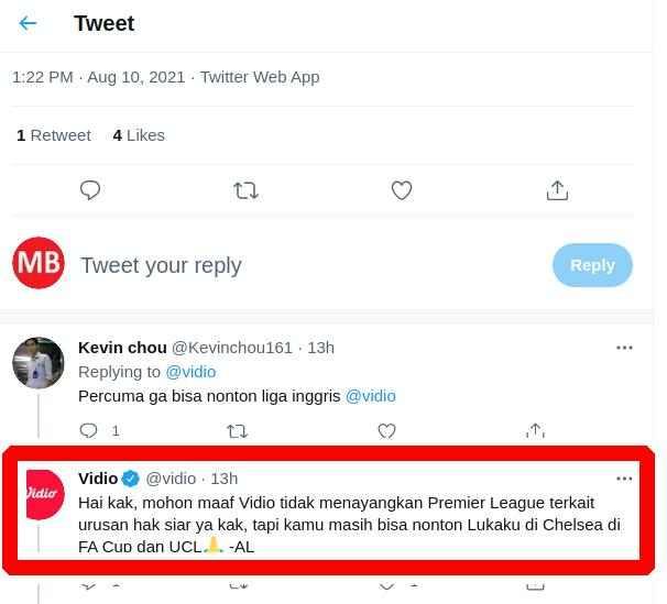 SCTV Tidak Siarkan Liga Inggris