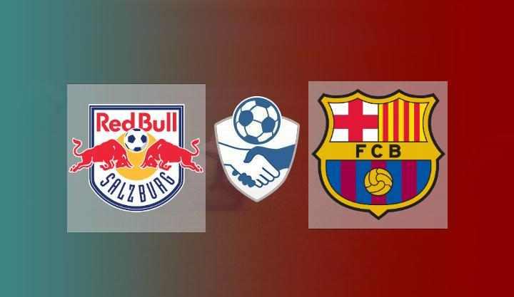 Hasil Salzburg vs Barcelona Skor Akhir 2-1   Friendly Match 2021