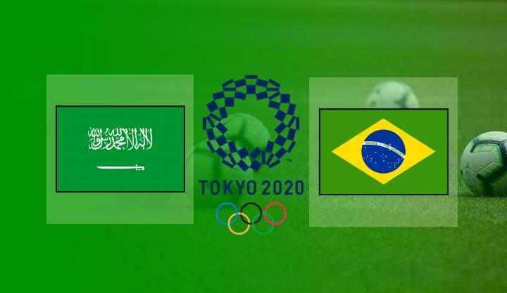 Saudi Arabia vs Brazil : Live Streaming, Head to Head, Prediksi Susunan Pemain | Olimpiade Tokyo 2020
