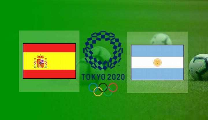 Hasil Spanyol vs Argentina Skor Akhir 1-1   Olimpiade Tokyo 2020