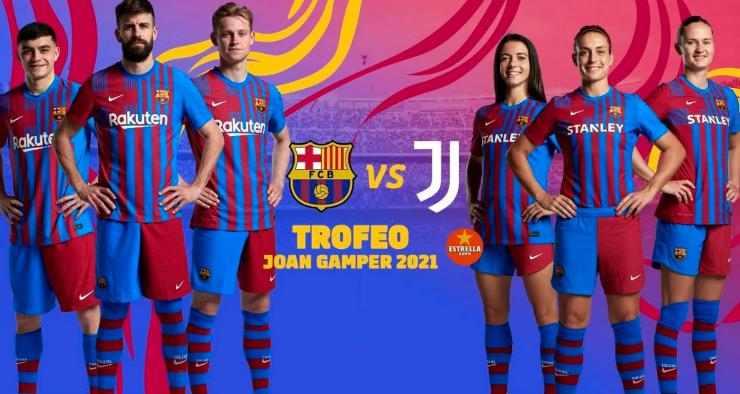 Trofeo Joan Gamper 2021, Barcelona vs Juventus   Tanggal Match dan TV Broadcasters