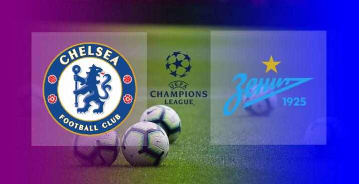 Hasil Chelsea vs Zenit St Petersburg