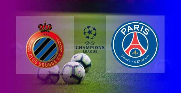 Hasil Club Brugge vs PSG