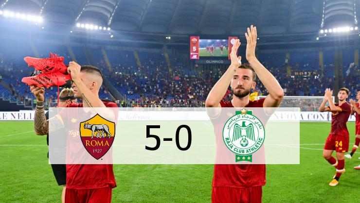 Hasil AS Roma vs Raja Casablanca Skor Ahir 5-0   Friendly Match 2021