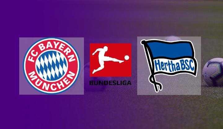 Hasil Bayern Munchen vs Hertha Berlin Skor Akhir 5-0