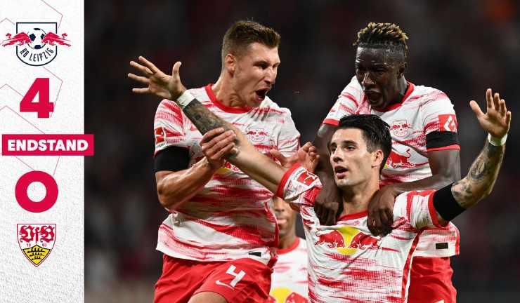 Hasil RB Leipzig vs VFB Stuttgart
