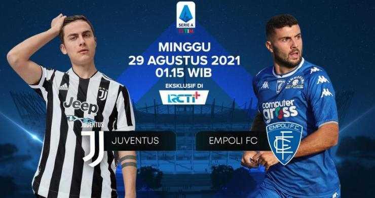 Prediksi Line Up Juventus vs Empoli   Pekan 2 Serie A 2021-2022