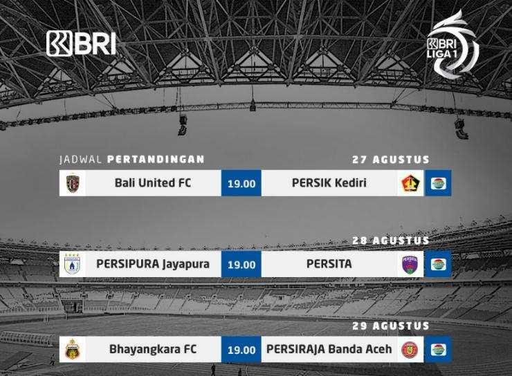 Jadwal Pekan Pertama BRI Liga 1 2021
