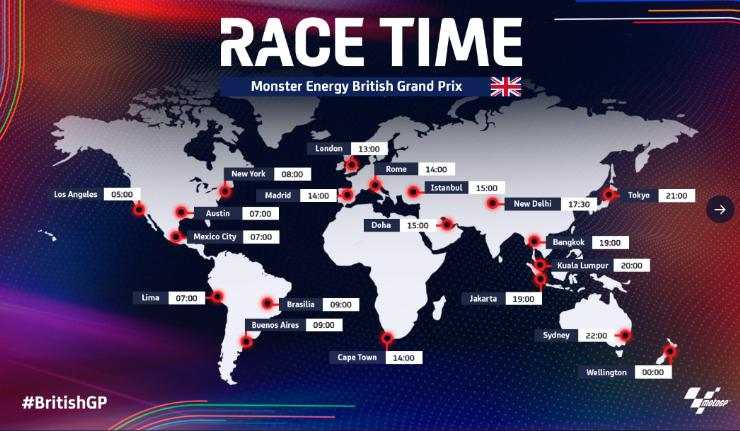 Live Streaming MotoGP Inggris 2021