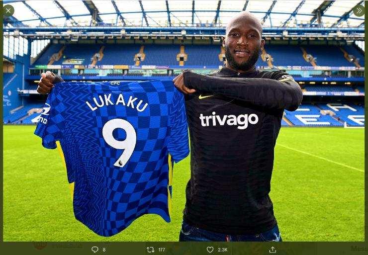 Romelu Lukaku ke Chelsea