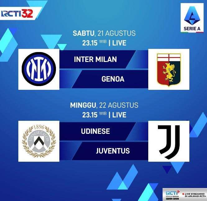 Catat Jadwal Serie A 2021 Pekan Pertama Yang Disiarkan Langsung di RCTI