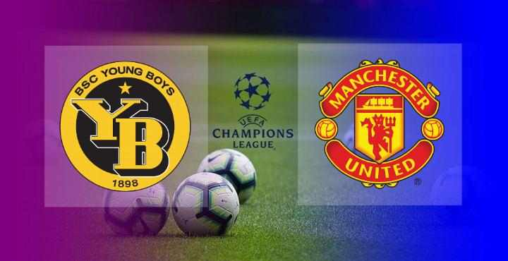 Hasil Young Boys vs Manchester United