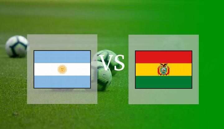 Hasil Argentina vs Bolivia