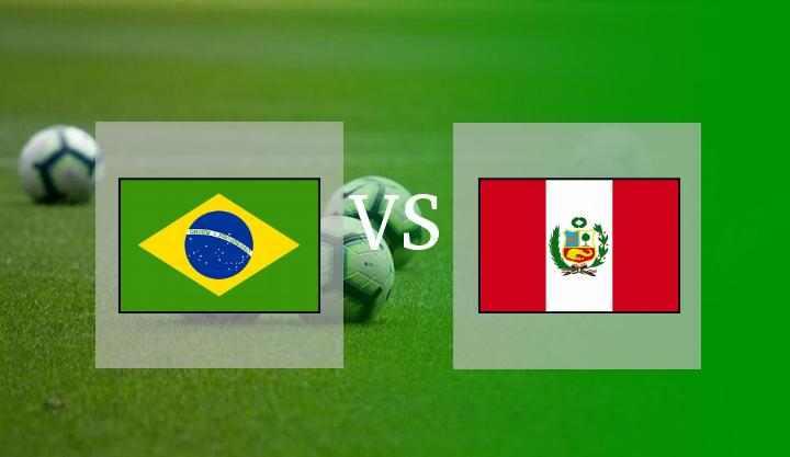 Hasil Brasil vs Peru