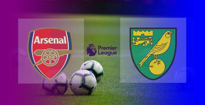 Hasil Arsenal vs Norwich City Skor Akhir 1-0 | Kemenangan Perdana The Gunners