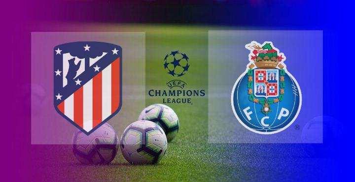 Hasil Atletico Madrid vs Porto Skor Akhir 0-0