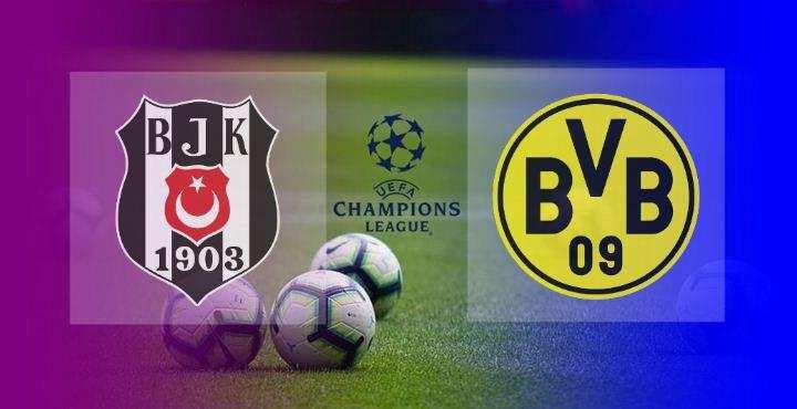 Hasil Besiktas vs Dortmund