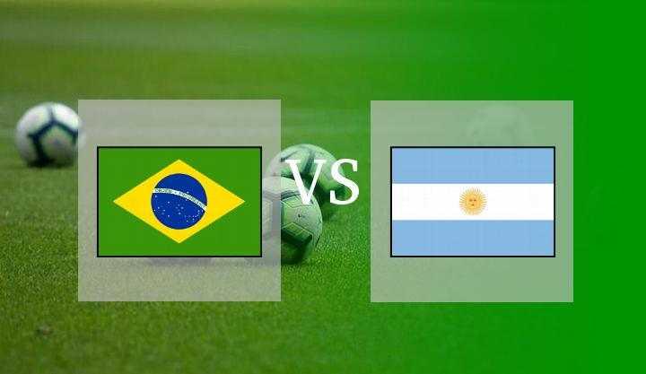 Brasil vs Argentina di Hentikan