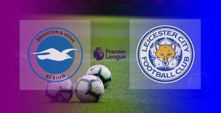 Hasil Brighton vs Leicester City