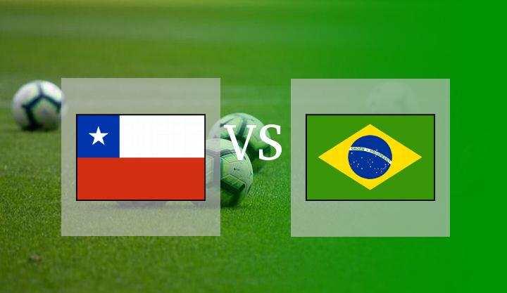 Hasil Chile vs Brasil