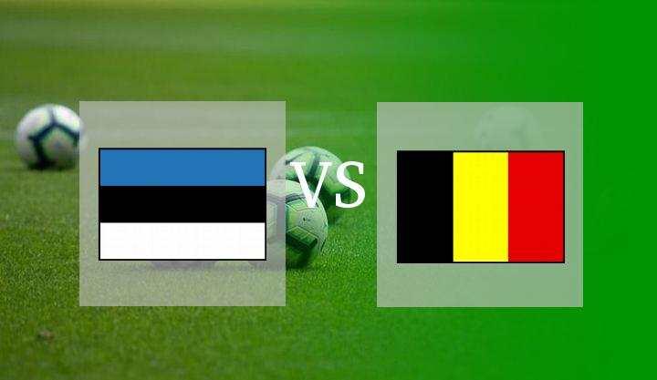 Hasil Estonia vs Belgia Skor Akhir 2-5