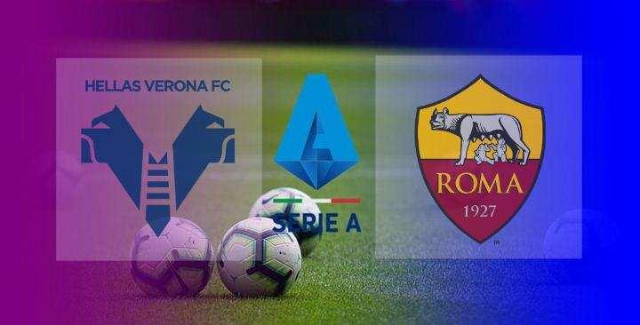 Hasil Hellas Verona vs AS Roma
