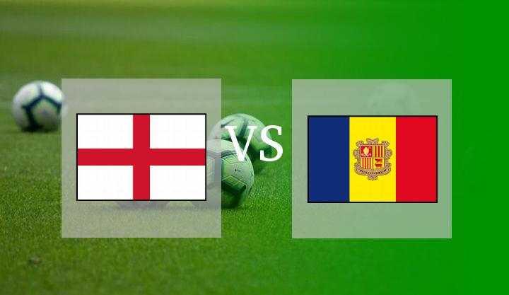 Hasil Inggris vs Andorra