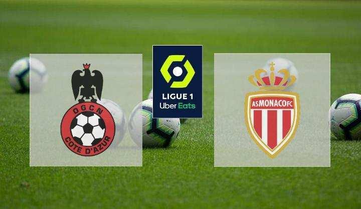 Hasil Nice vs AS Monaco Skor Akhir 2-2