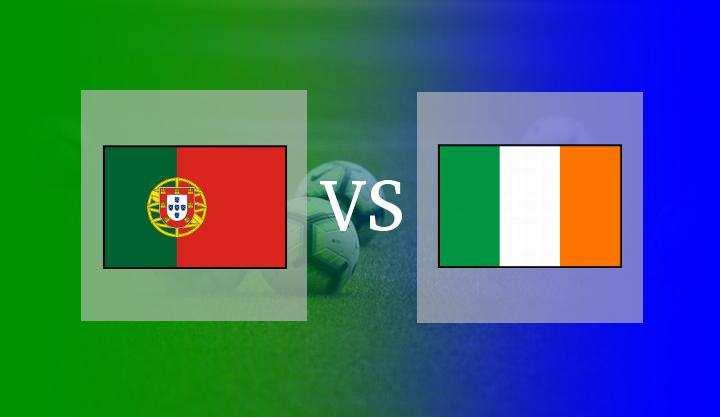 Hasil Portugal vs Irlandia 2-1