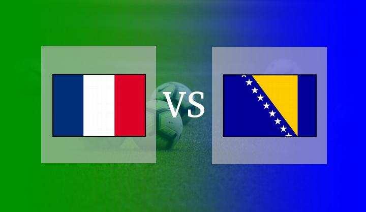 Hasil Prancis vs Bosnia Herzegovina
