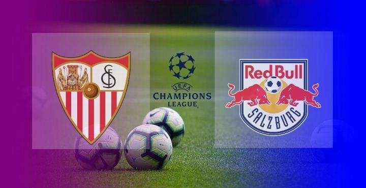 Hasil Sevilla vs FC Salzburg Skor Akhir 1-1