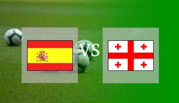 Hasil Spanyol vs Georgia skor akhir 4-0