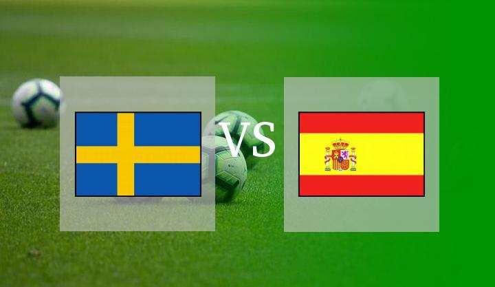 Hasil Swedia vs Spanyol