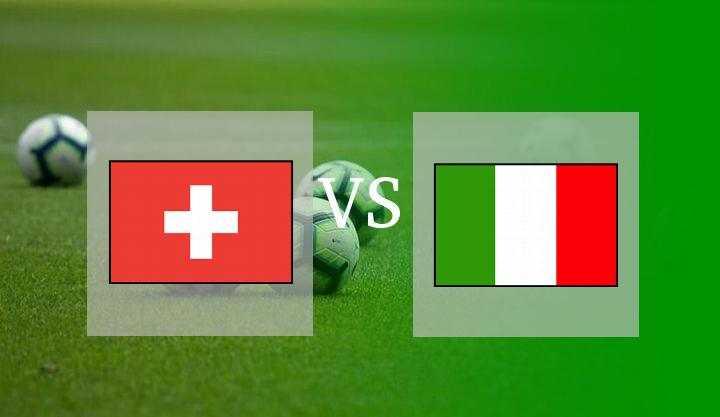 Hasil Swiss vs Italia