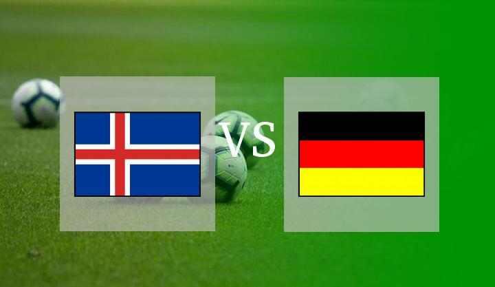 Hasil Islandia vs Jerman