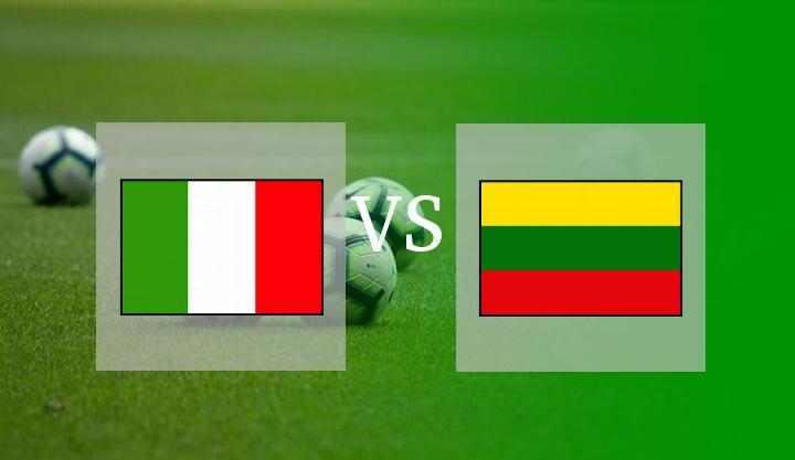 Hasil Italia vs Lithuania