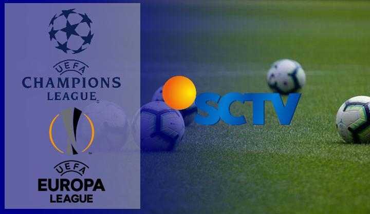 Jadwal SCTV Selasa Rabu Kamis dan Jumat, ada Liga Champions dan Liga Europa