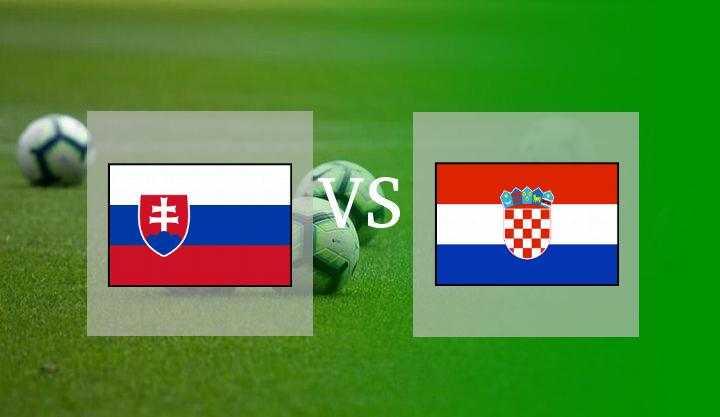 Hasil Slovakia vs Kroasia Skor Akhir 0-1