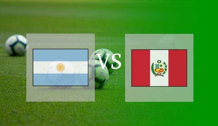 Hasil Argentina vs Peru